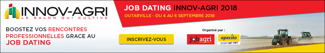 Job dating Innov Agri2018 1100x180
